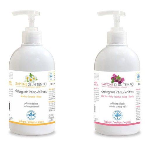 Detergente intimo delicato in 2 versioni