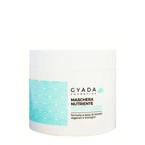 Maschera nutriente per capelli secchi, trattati e sfibrati