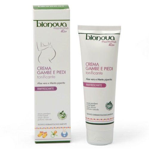 Crema gambe e piedi tonificante per la gravidanza Bionova