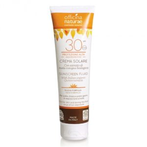 crema fluida solare spf 30 officina naturae