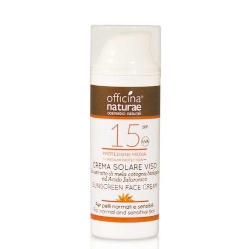 Crema solare viso e corpo SPF 15