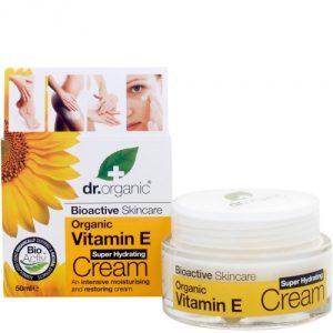 crema viso vitamina e dr organic