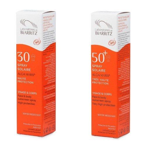 Spray solare SPF 30 – 50+ a rapidissimo assorbimento