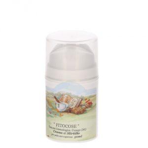 Crema al Mirtillo per pelli sensibili, reattive o couperose