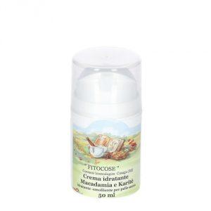 crema idratante macadamia e karité fitocose