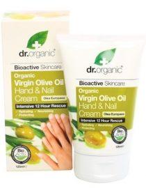 Crema mani e unghie all'olio d'oliva dr organic