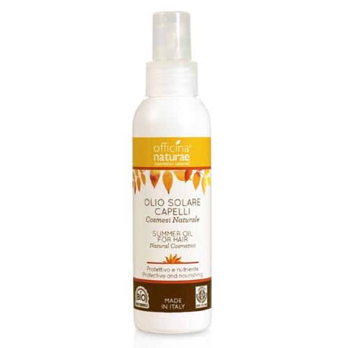 olio solare capelli officina naturae