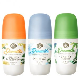 Deodorante roll-on Alkemilla in 3 versioni