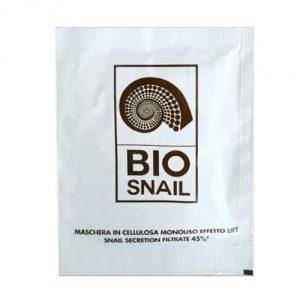 maschera bio in tessuto alla bava di lumaca bio snail