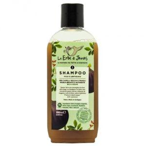 Shampoo Fico e Lentischio per capelli secchi e fragili