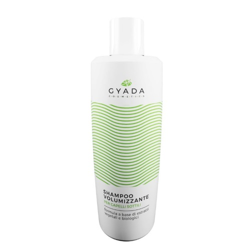 shampoo volumizzante per capelli sottili gyada cosmetics
