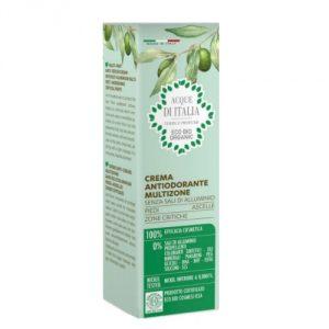 crema antiodorante multifunzione hanorah bio