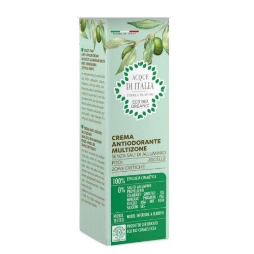 Crema antiodorante multifunzione – Acque d'Italia
