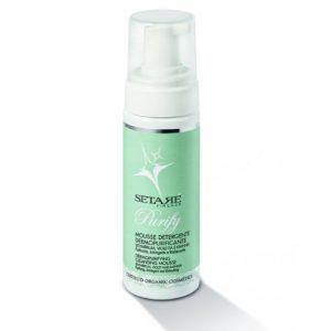 Mousse detergente dermopurificante per pelle impura Setarè