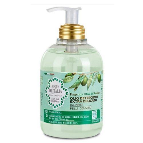 Olio detergente extra-delicato – Acque d'Italia