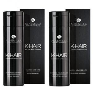 Shampoo K-HAIR Alkemilla in varie versioni