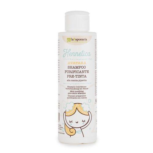 Shampoo pre-tinta purificante La Saponaria