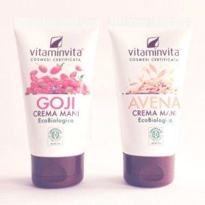 Creme mani eco biologiche – Goji & Avena