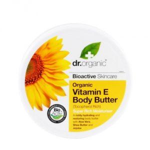 burro corpo vitamina e dr organic