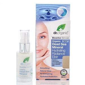 dead sea mineral hydrating radiance elixir dr organic