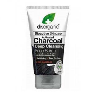 Scrub Viso al Carbone Attivo Dr Organic