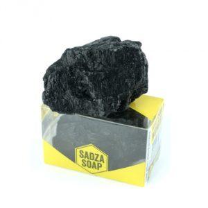 sadza soap saponetta al carbone