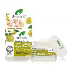 crema giorno olio d'oliva dr organic