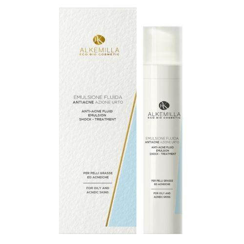 Emulsione fluida anti-acne