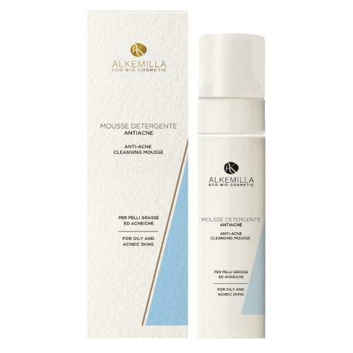 Mousse detergente anti-acne Alkemilla