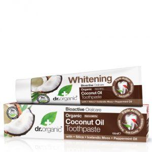 dentifricio al cocco dr organic