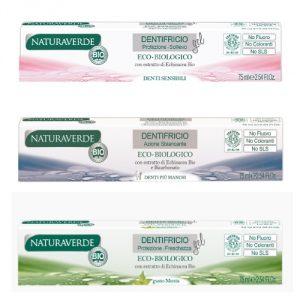 Dentifricio Naturaverde BIO per tutta la famiglia (3 versioni)