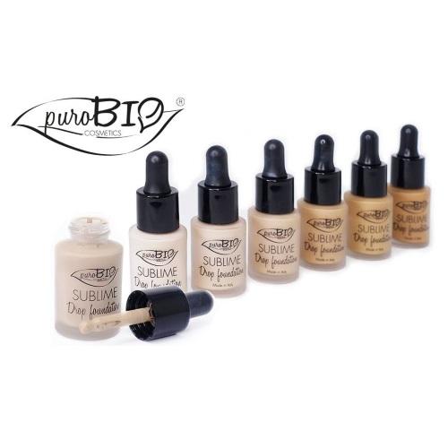 purobio sublime drop foundation  Drop Foundation PuroBio Cosmetics AntiPollution - PrimoBio