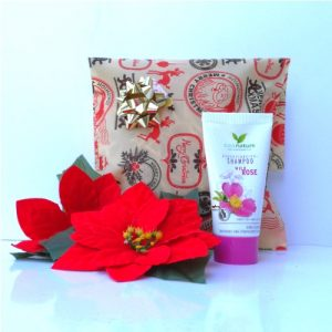kit shampoo rosa cosnature