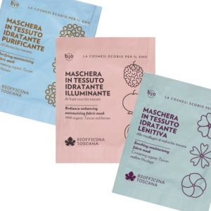 Maschera in tessuto Biofficina Toscana in 3 versioni