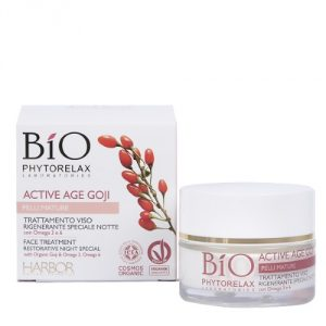 Trattamento Viso Rigenerante Speciale Notte Active Age Goji