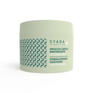 Impacco capelli rinforzante con Alga Spirulina Gyada Cosmetics