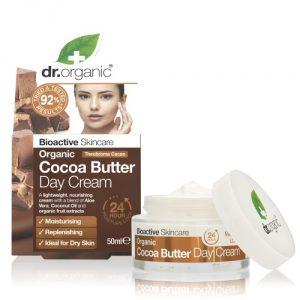 Crema Giorno al Burro di Cacao Dr Organic