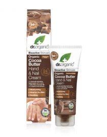 Crema per Mani e Unghie al Burro di Cacao Dr Organic