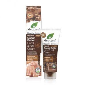 Crema Mani e Unghie al Burro di Cacao Dr Organic