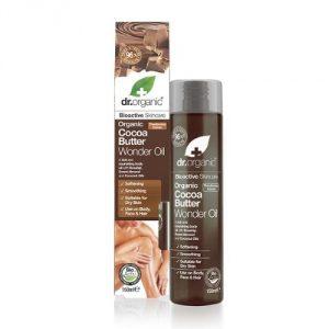 Olio Corpo al Burro di Cacao Dr Organic
