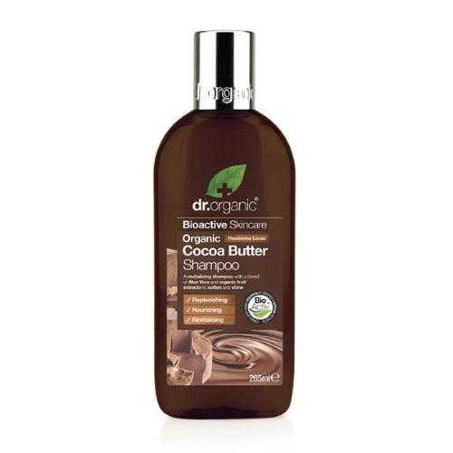 Shampoo per Capelli al Burro di Cacao Dr Organic