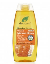 bagnodoccia con miele di manuka dr organic