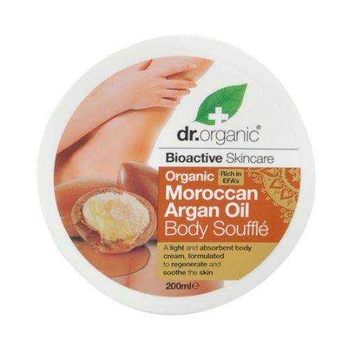 Burro Corpo Soufflé all'Olio di Argan Dr Organic