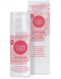 Crema viso antiage con Acido Ialuronico sapone di un tempo