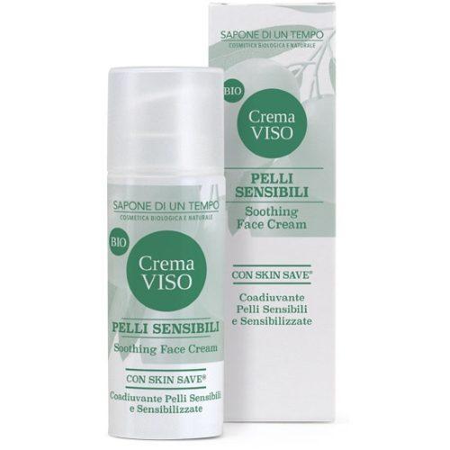 Crema viso pelli sensibili con Skin-Save