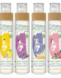 Latte corpo eco bio officina dei saponi