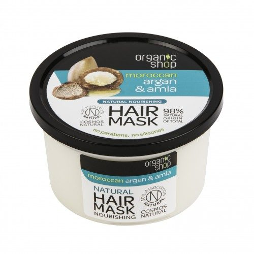 Maschera capelli Argan & Amla Organic Shop