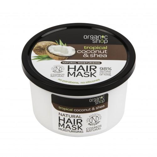 Maschera capelli Cocco & Karité Organic Shop
