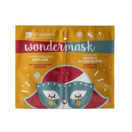Wondermask 2 Steps Beauty Anti-Age La Saponaria