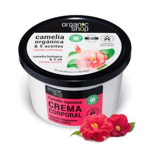 Crema corpo Camelia & 5 oli vegetali Organic Shop